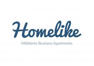 Homelike Logo Quer Slogan